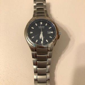 Citizen Titanium Eco-Drive Sapphire Men's Watch